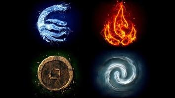 Fyra Element är Vatten, Luft, Jord, Eld